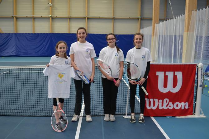 Les Demoiselles du SPAC Tennis - campagne 2017