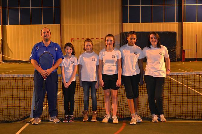 Les Demoiselles du SPAC Tennis - campagne 2014