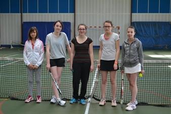 Les Demoiselles du SPAC Tennis - campagne 2015