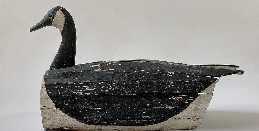 Antique Wooden Canada Goose Decoy