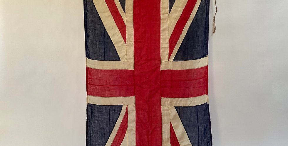 Large British Panel-Stitched WW2 Union Jack Flag
