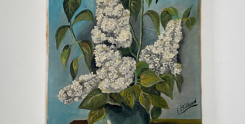 Early 20th Century French Flower Painting