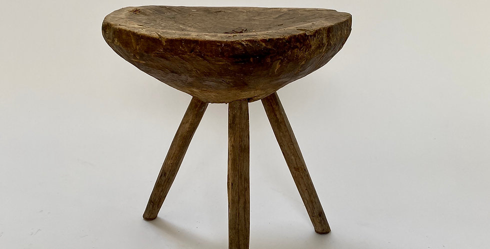 Primitive Wooden Stool