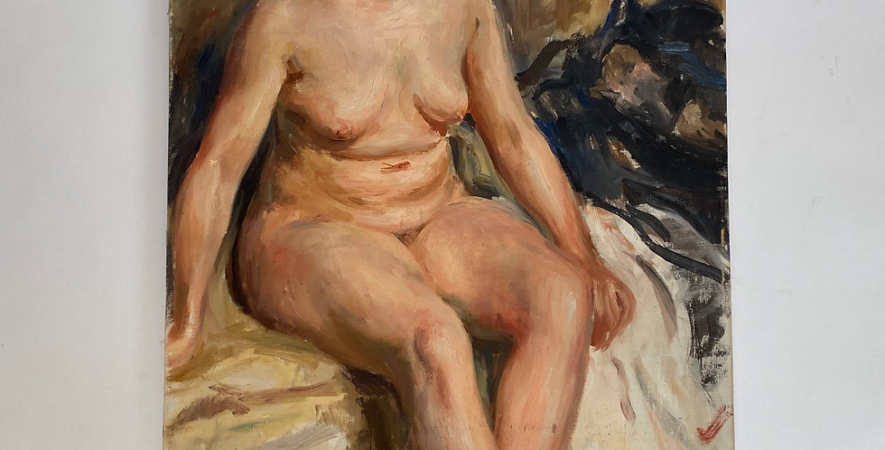 20th Century French Female Nude Painting