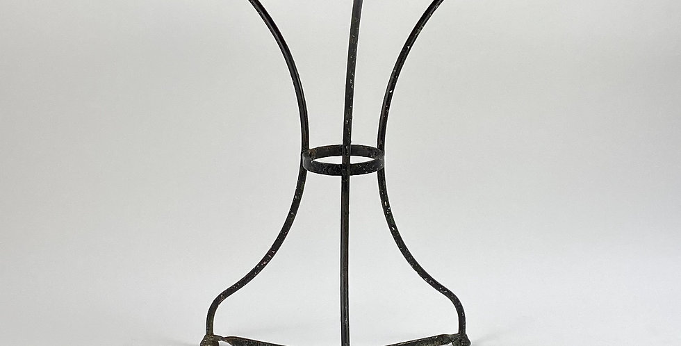 Black French Bistro Table