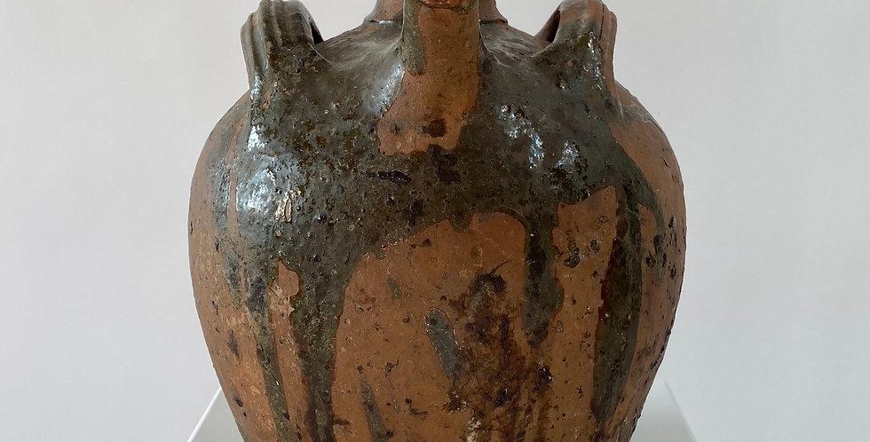 Antique French Oil Pot