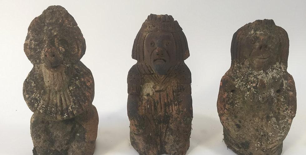 Antique Terracotta Garden Statues