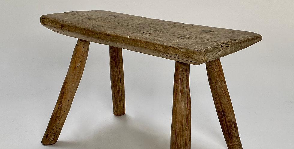 Primitive Wooden Stool