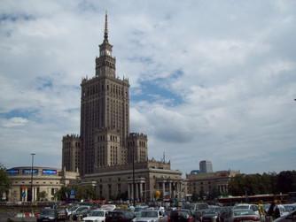 Polsko 2010 - Varšava - město dvojí tváře