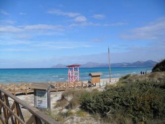 Mallorca 2011 - První letošní opalování!