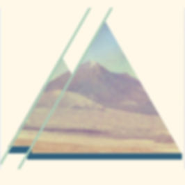 montains inside triangles