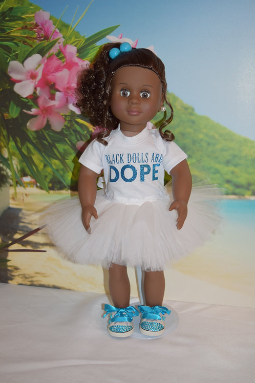 18 inch African American Doll