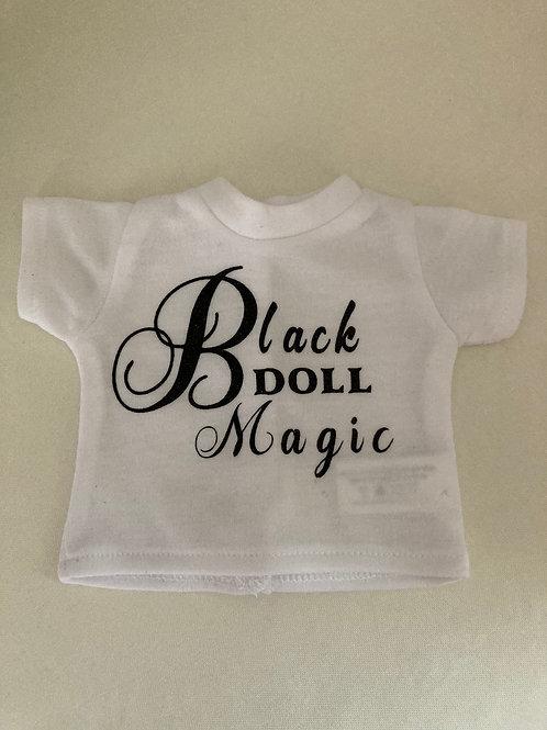 Black Doll Magic Tee Shirt