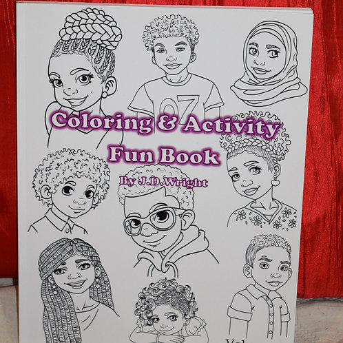 Coloring & Activity Fun Book