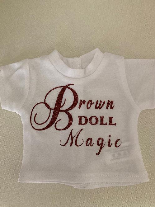 Brown Doll Magic Tee Shirt