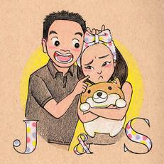 Justin & Sivia: Wedding Portrait