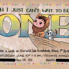 Rihan's 1st Birthday