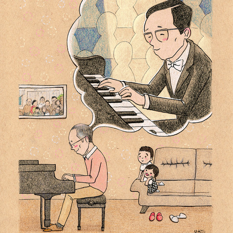 Piano Family - Father