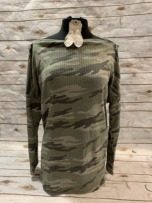 Camo Button Sleeves