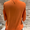 Thumbnail: Orange top w/ cold shoulder and tie