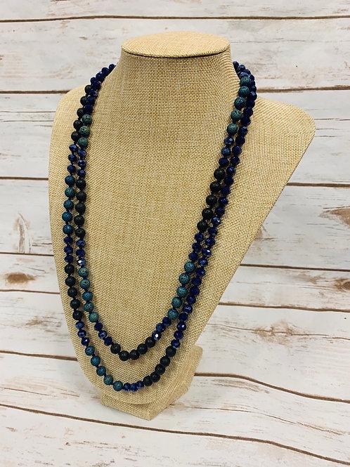 Blue Tones Necklace