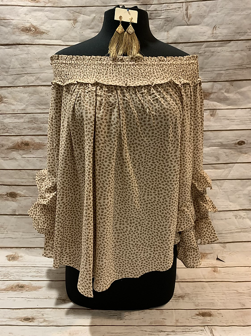 Taupe Bell Sleeve