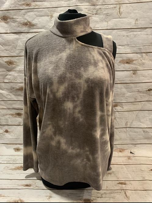 Cutout Charcoal Tie Dye