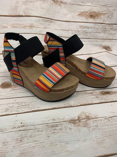 Serape Wedge sandals
