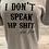 Thumbnail: Don't Speak