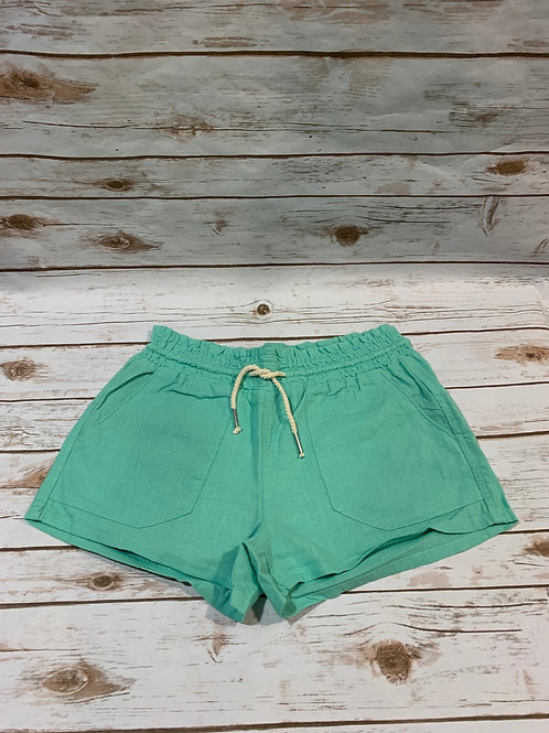 Mint Drawsting Shorts