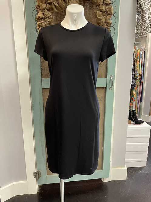 Black Relaxed Dress