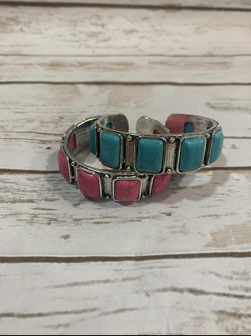 Small/Medium stone cuffs
