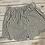 Thumbnail: Navy Pinstripe Scallop Shorts