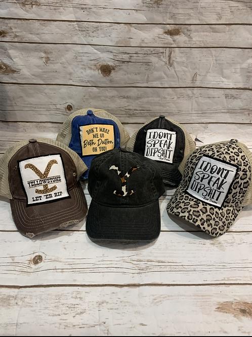 Yellowstone Trucker Hats