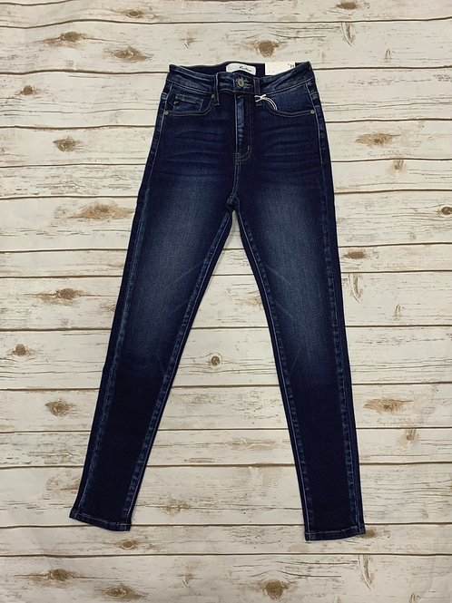 Dark wash High Rise Skinny