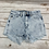Thumbnail: Stonewashed denim cutoffs