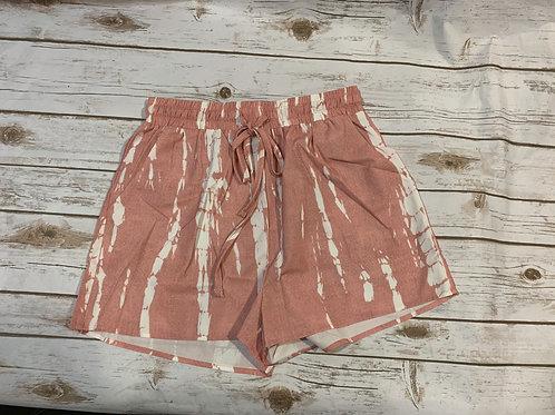 Tie Dye Drawsting Shorts