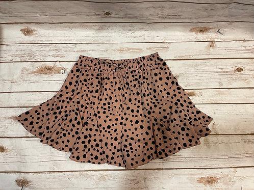 Mauve Flare Shorts