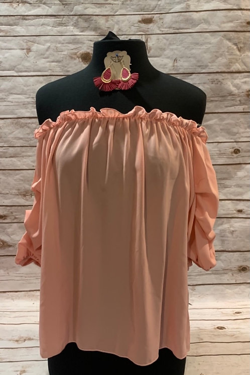 Pink Bubble Sleeve