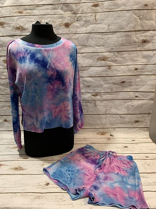 Purples/ Blue Tie Dye