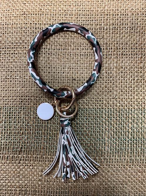 Camo Wrist Keychain