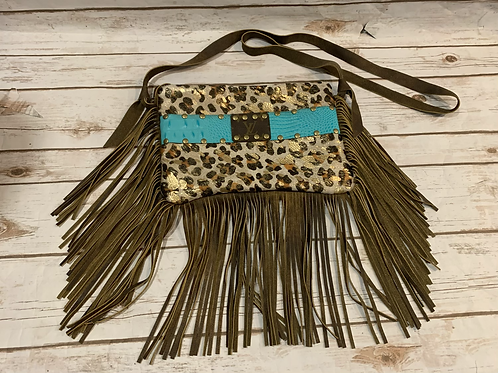 LV Fringe Purse