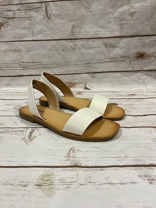 Hyper Sandals White