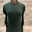 Thumbnail:  Olive mock neck with bubble sleeves