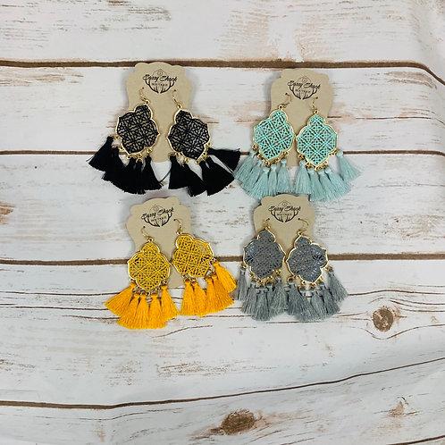Chandelier Tassel Earrings