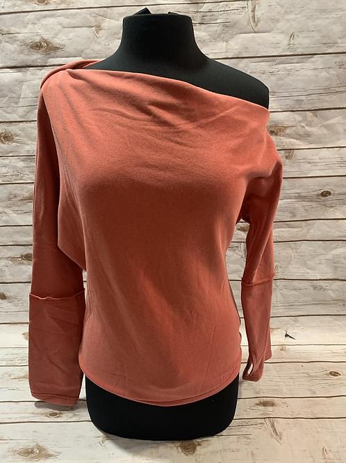 Brick slouch bodysuit