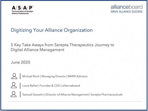 Digitizing Your Alliance Organisation