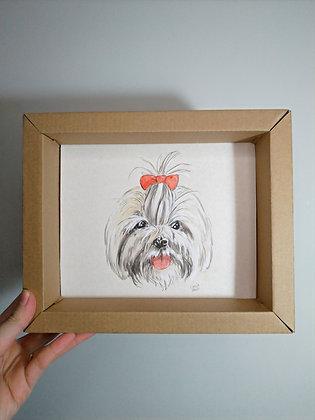 Retrato de pet (encomenda)