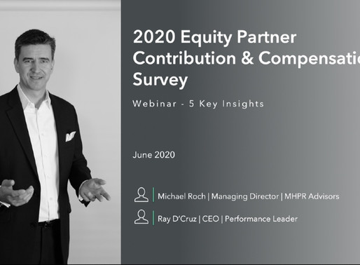 Webinar - 5 Key Insights from the 2020 Partner Compensation survey