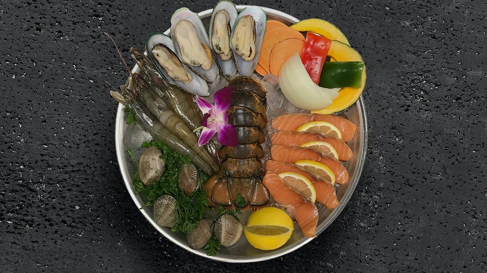 Luxury Seafood Plate
